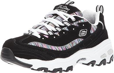 Engaño Más lejano Paquete o empaquetar  Amazon.com | Skechers Women's DLites Interlude Sneaker | Road Running