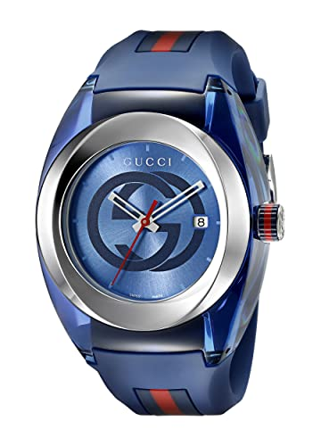 21fe6069af6385 Amazon.com  Gucci Stainless Steel WYNC Watch(Model YA137104)  Watches
