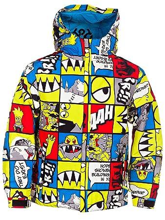 Snow Jacket Kids 686 Snaggle Strip Insulated Jacket Boys Amazonco