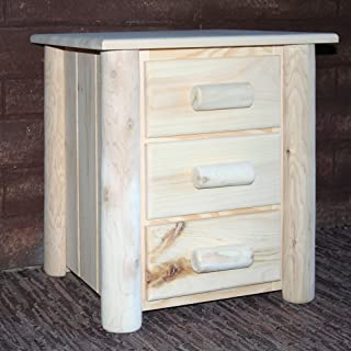 product image for Lakeland Mills Frontier Nightstand, Clear