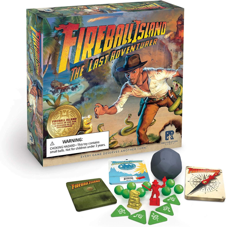 RESTORATION GAMES Fireball Island: Last Adventurer: Amazon.es ...
