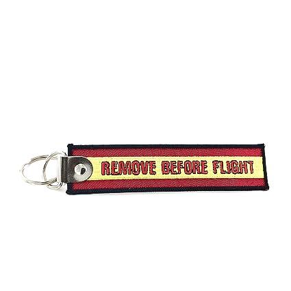 Llavero aviación bandera España: Amazon.es: Equipaje