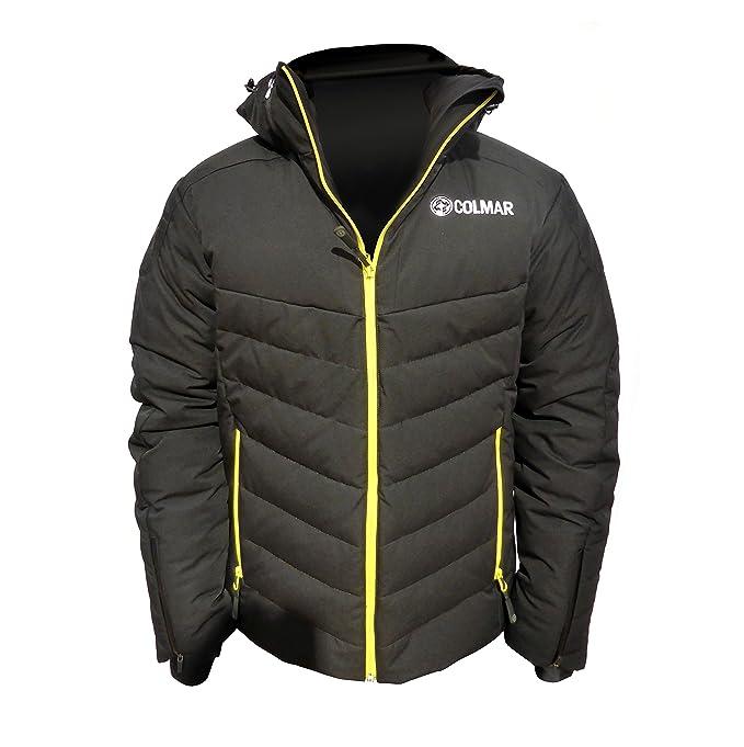 Giacca Colmar sci uomo Everest nerogiallo 5NZ 1002 99