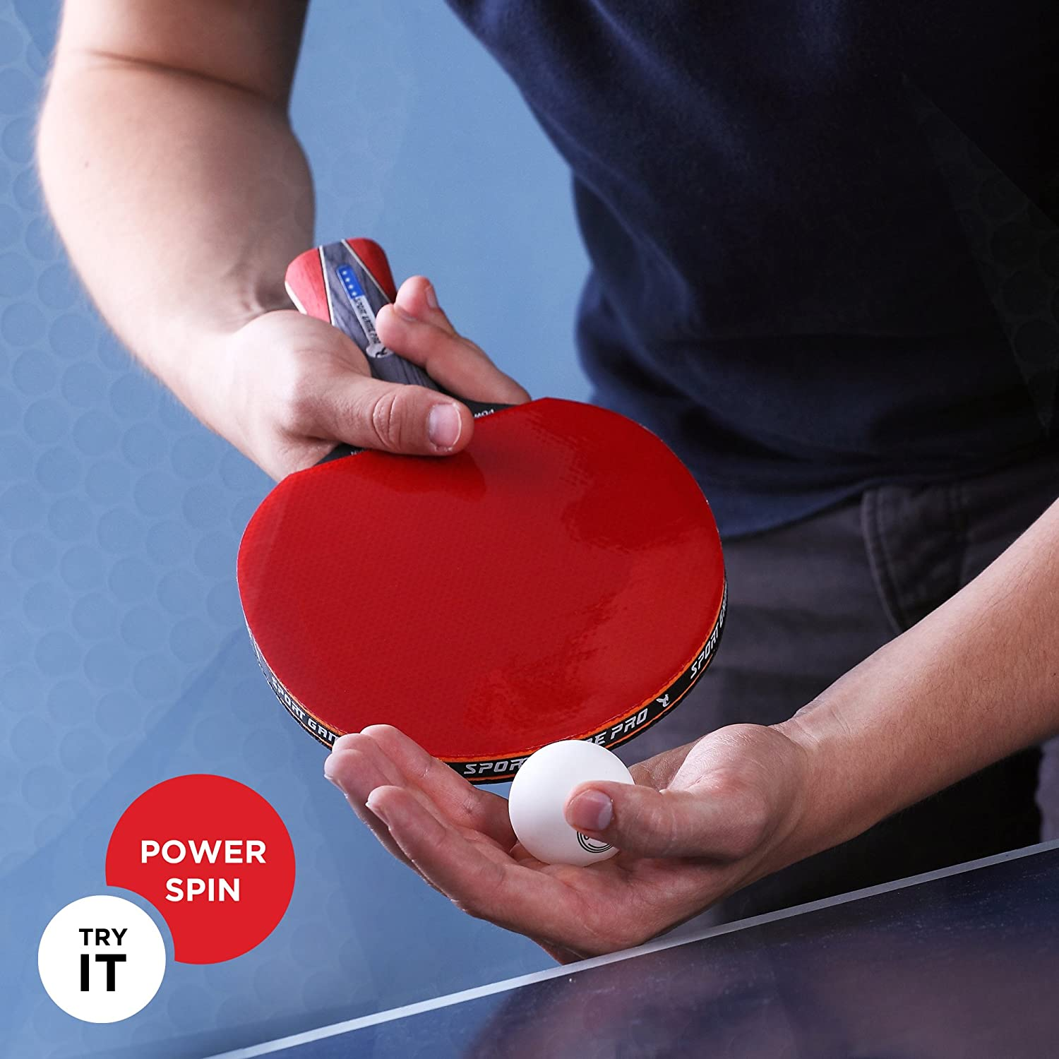 Instructions for buying ping-pong paddle