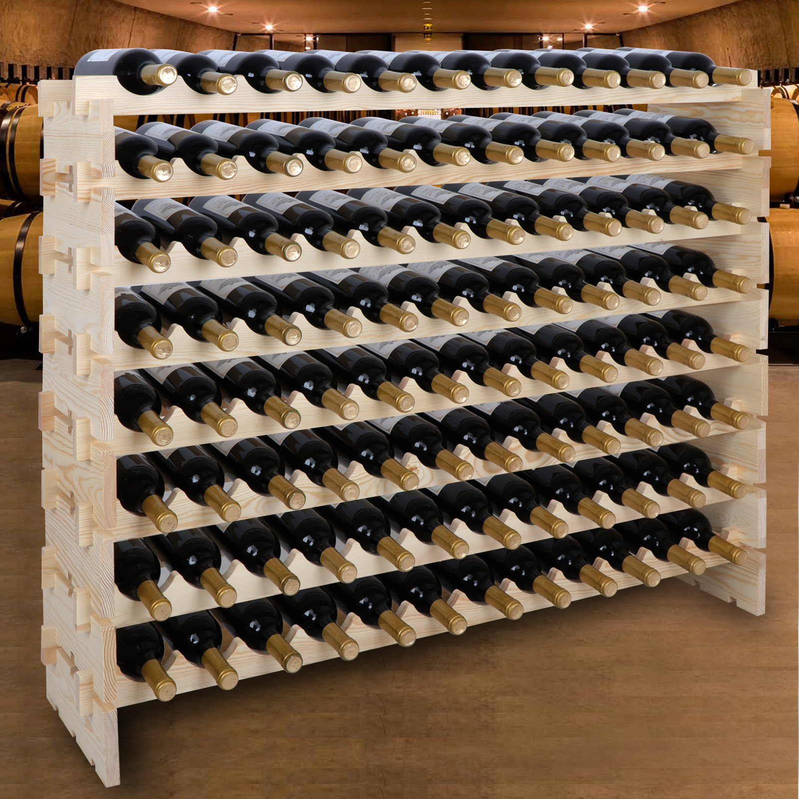 A Stackable Wine Rack Is One Of The Most Practical Options For Home Wine  Storage. Although Some Can Still Be Appealing To Look At, Many Of These  Options ...