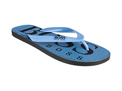 BOSS Athleisure Flipflops/Sandalen/Badeschuhe Aus Gummi Wave_Thng_Digital 10208294 (43/44 Light/Pastel Blue 450)
