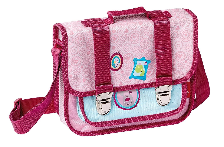 sigikid, Mädchen, Kindergartentasche Drei Freunde, Happy Friends, Rosa, 24001 Mädchen