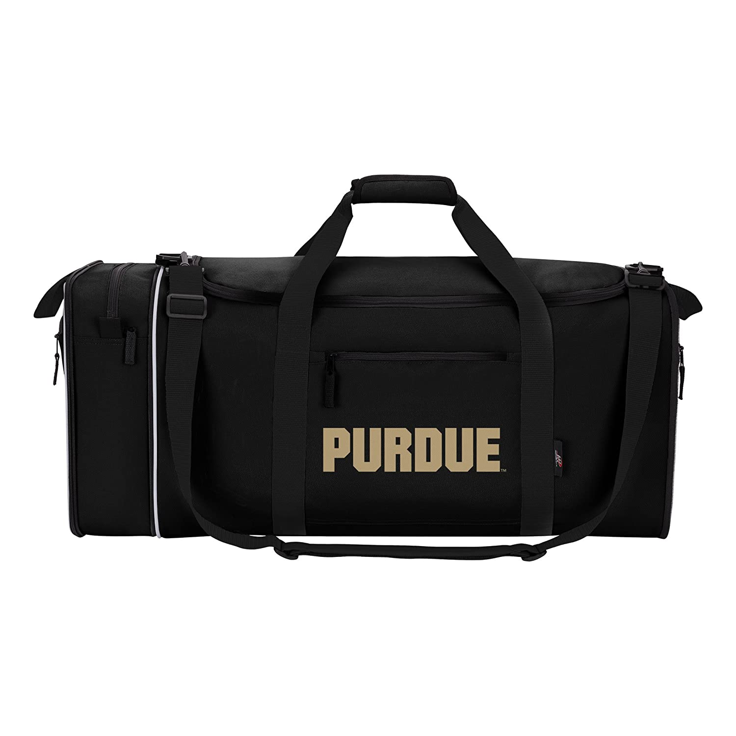 The Northwest Company Officially Licensed NCAA Steal Duffel Bag Blue ... 9ef07bfbf298b