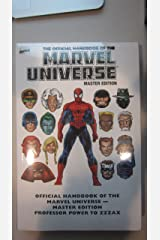 Essential Official Handbook of the Marvel Universe - Master Edition Volume 3 Paperback