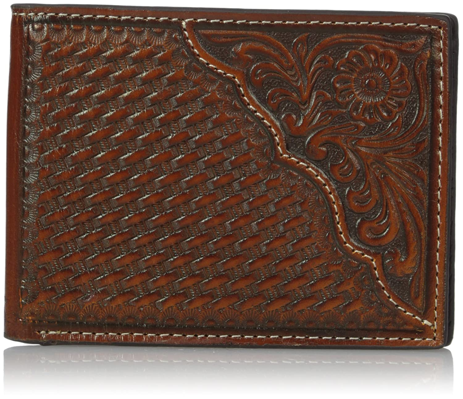 Nocona Men's Pro In Money Floral Corner Tan One Size Ariat Men's Accessories N5446708