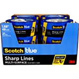 ScotchBlue Sharp Lines Multi-Surface Painter's Tape, 1.88 inches x 60 yards (720 yards total), 2093, 12 Rolls