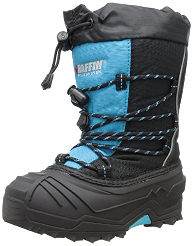 Baffin Young Snogoose Snow Boot(Children's) -Black/Plum New Online Cheap Online Store Manchester Free Shipping Discount Top Quality Cheap Online 4xRiI