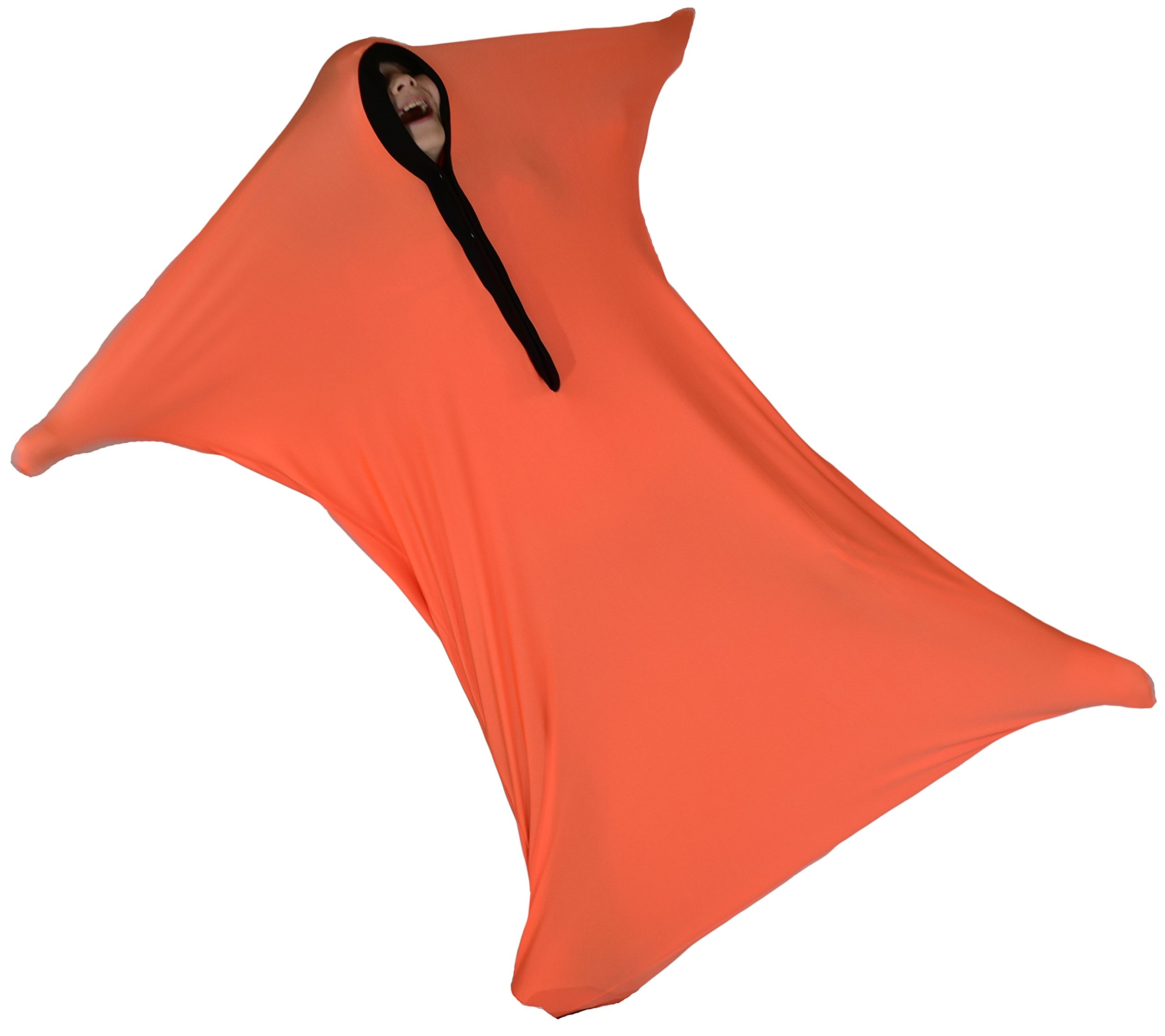 ZZZ Weighted Blankets Sensory Sack, Sensory Sock, Body Sock (Orange, Large (9-13)) by ZZZ Weighted Blankets