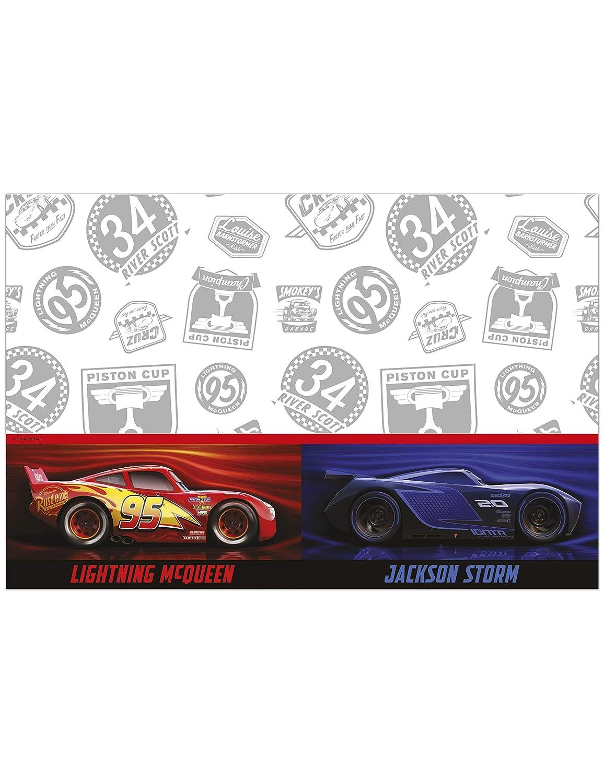 /Cars Legend of the track Procos/ talla /única Mantel Pl/ástico 120/x 180/cm 120/x 180/cm multicolor 89468