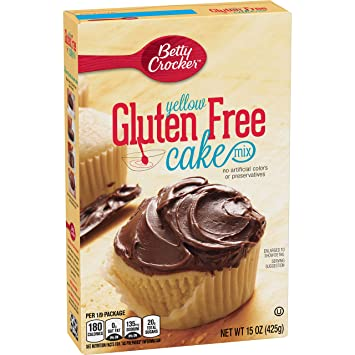 betty crocker gluten free yellow cake mix pumpkin