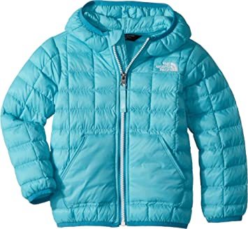 9c00aec94 THE NORTH FACE Kids Baby Girl's Thermoball Hoodie (Toddler) Blue ...