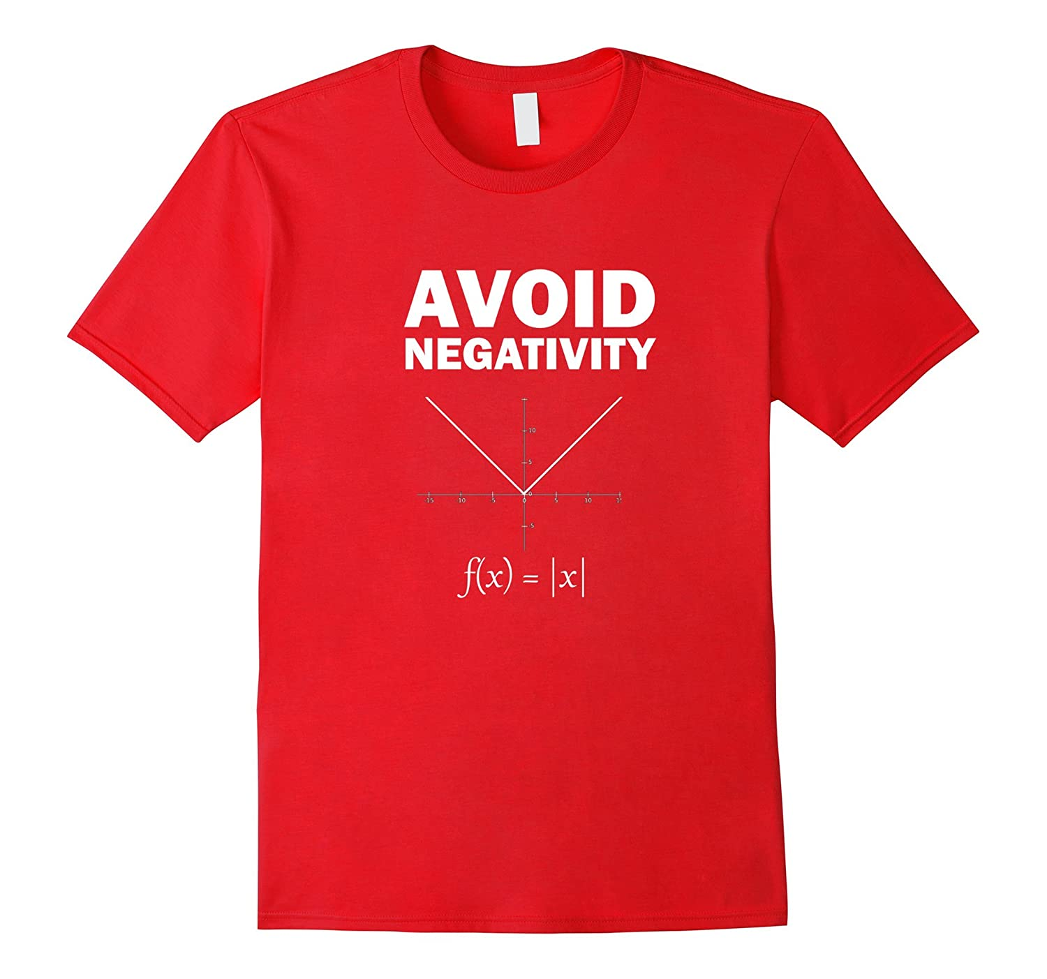 Avoid Negativity Funny T shirt for Math geeks-CL