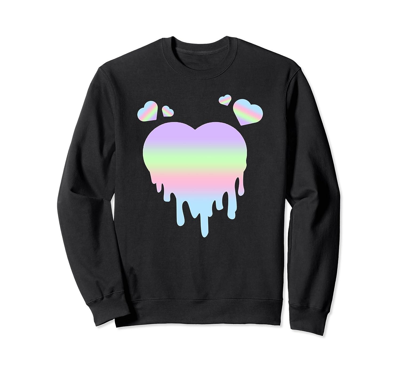 Pastel Goth Sweatshirts, Girls Gothic Sweater Halloween Gift-mt