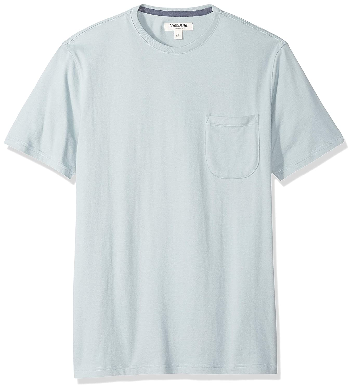 003e6df571af Amazon Brand – Goodthreads Men's Short-Sleeve Sueded Jersey Crewneck Pocket  T-Shirt