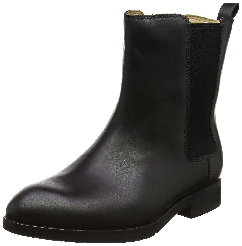 Sebago Sebago Sebago Damen Nashoba Chelsea Stiefel Schwarz (schwarz Leder) 3de903