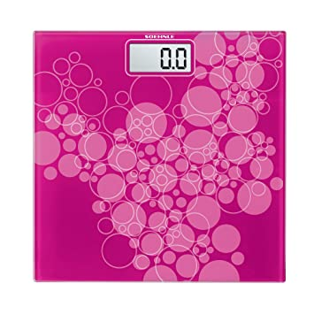 Soehnle Pino Precision Digital Bathroom Scale  Pink. Amazon com  Soehnle Pino Precision Digital Bathroom Scale  Pink