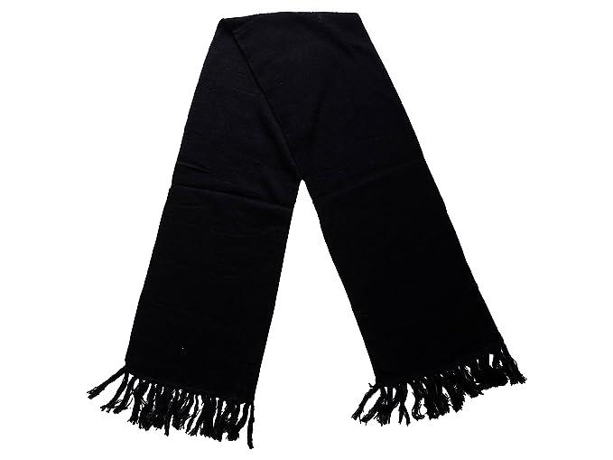 e00928b3f0e Image Unavailable. Image not available for. Colour  Gajraj Men s Woollen  Muffler (Black
