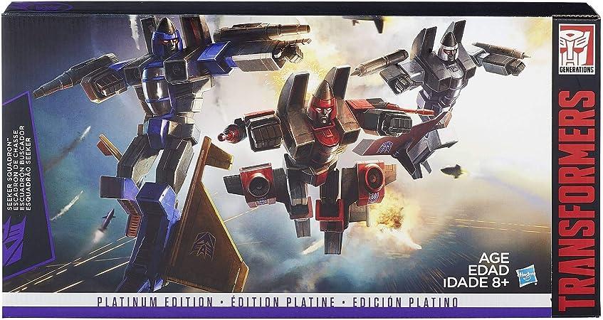 Transformers G1 Platinum Edition SEEKER SQUADRON Digre Thrust Ramjet Kids Gift