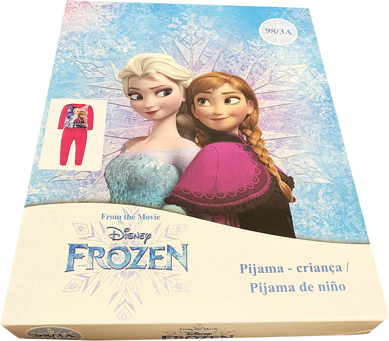 Disney Frozen Conjunto de Pijama Largo para ni/ñas