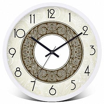 Runde Wand Uhr. die moderne Uhr ruhig Wanduhren, Küche/Wohnzimmer ...