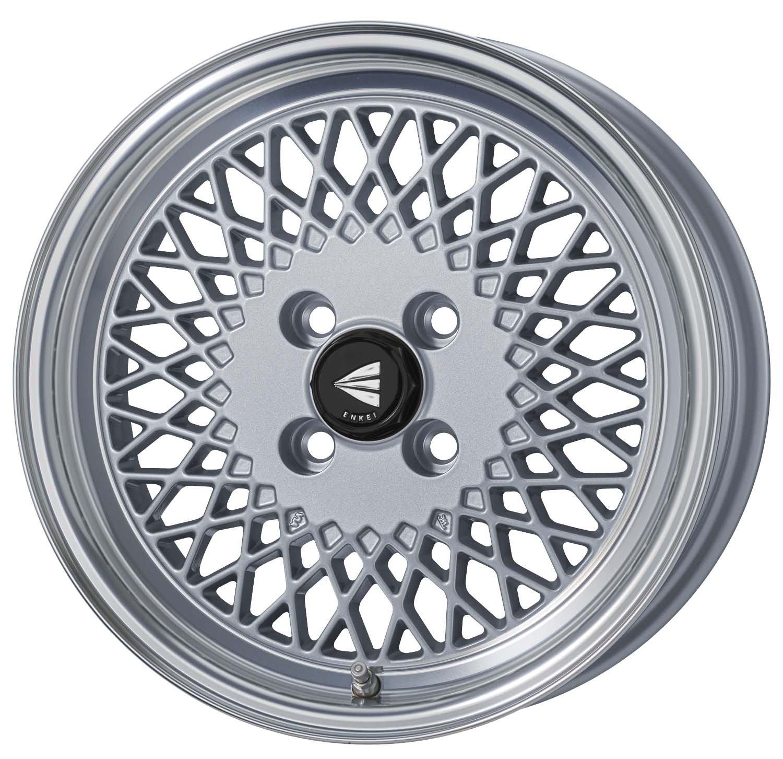 エンケイ アルミホイール ENKEI92 15 x 7.0J +38 4H 114.3 Machining Silver EK92-570-38-4H-S B06W54T6WX