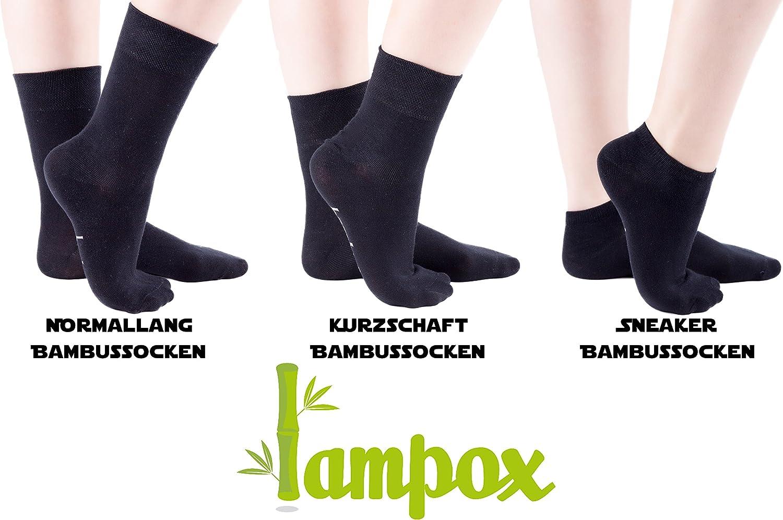 Socken Laufen lampox Sneaker Bambussocken 6x Paar