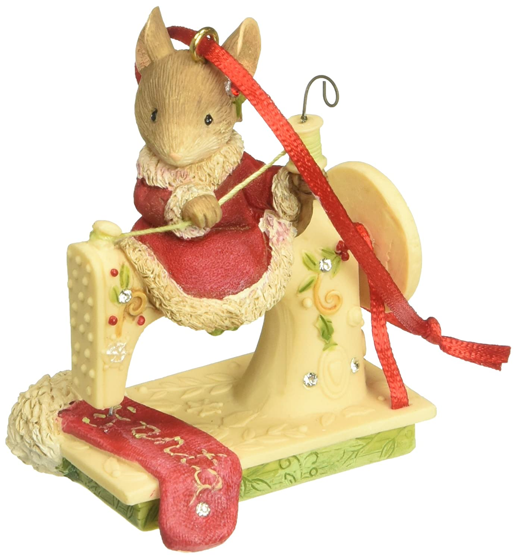 Enesco Sew Happy Its Christmas Ornament Multicolor Enesco Gift 4052791
