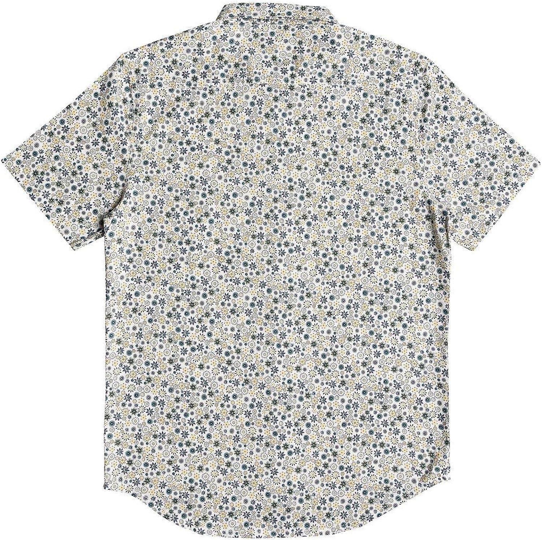 Quiksilver Mens Ditsy Dreamer Short Sleeve Woven Top