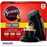 Philips Volks-Senseo HD6554/69 Kaffeepadmaschine (Crema Plus, Kaffeestärkewahl) schwarz