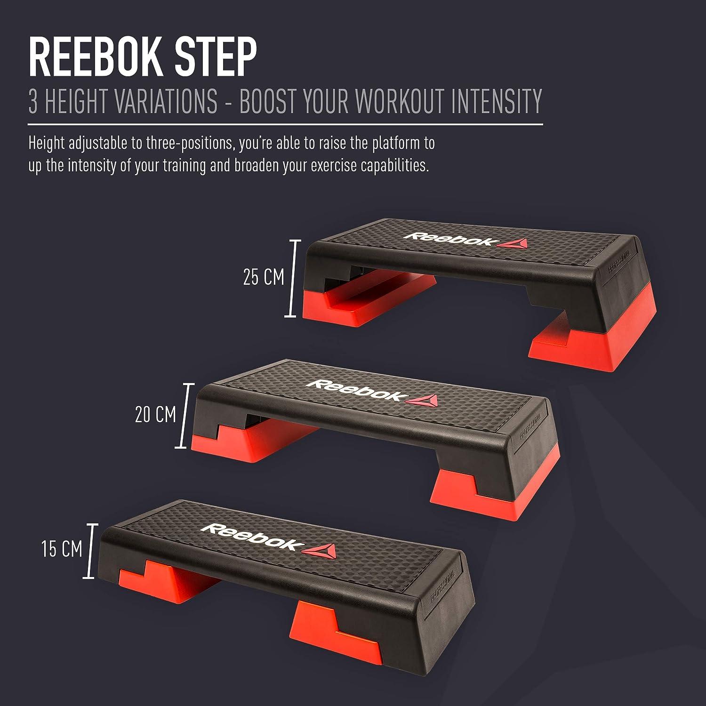 Reebok Step, Rojo: Amazon.es: Deportes y aire libre