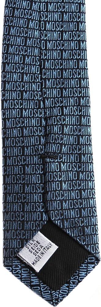Moschino Corbata Azul Petróleo Única: Amazon.es: Ropa y accesorios