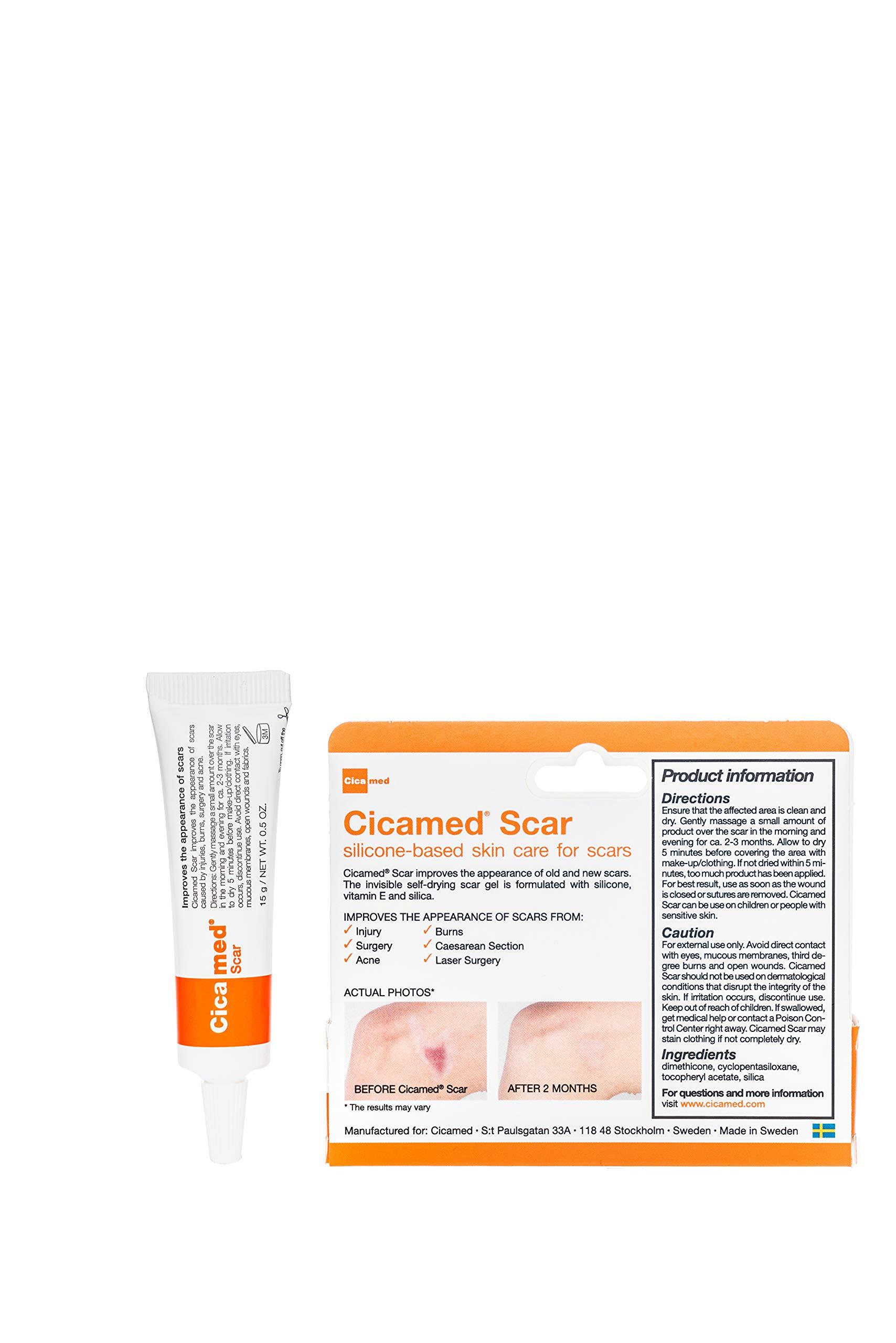 Cicablock Scar Sun Protection Uva Uvb Sunscreen Cicamed Organic