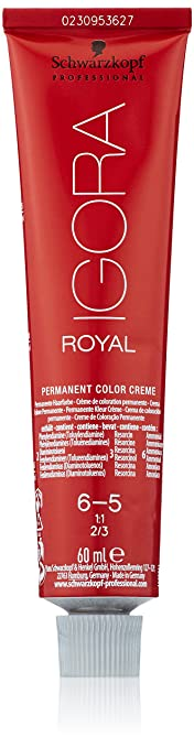Oferta amazon: Schwarzkopf Igora Royal Tinte Permanente, Tono 6-5 - 60 ml