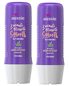 Aussie 3 Minute Miracle Smooth Treatment 8 Ounce (235ml) (2 Pack)