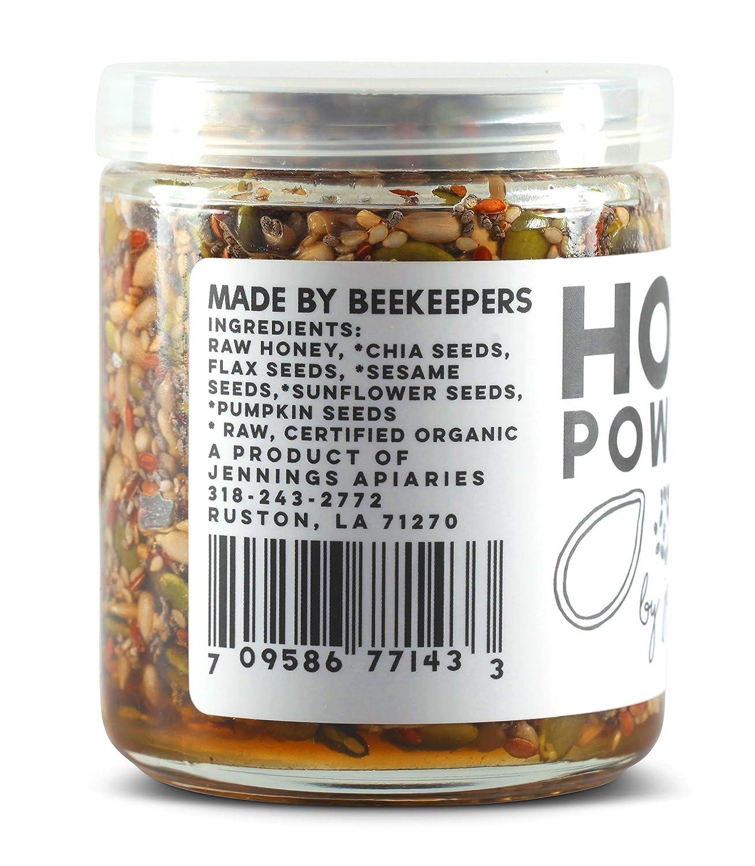 Miel + semillas de energía: Amazon.com: Grocery & Gourmet Food