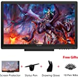 Huion KAMVAS GT-191 Graphics Drawing Tablet Monitor with 8192 Levels Pen Pressure 19.5 Inch HD 1920 x1080 Pen Display