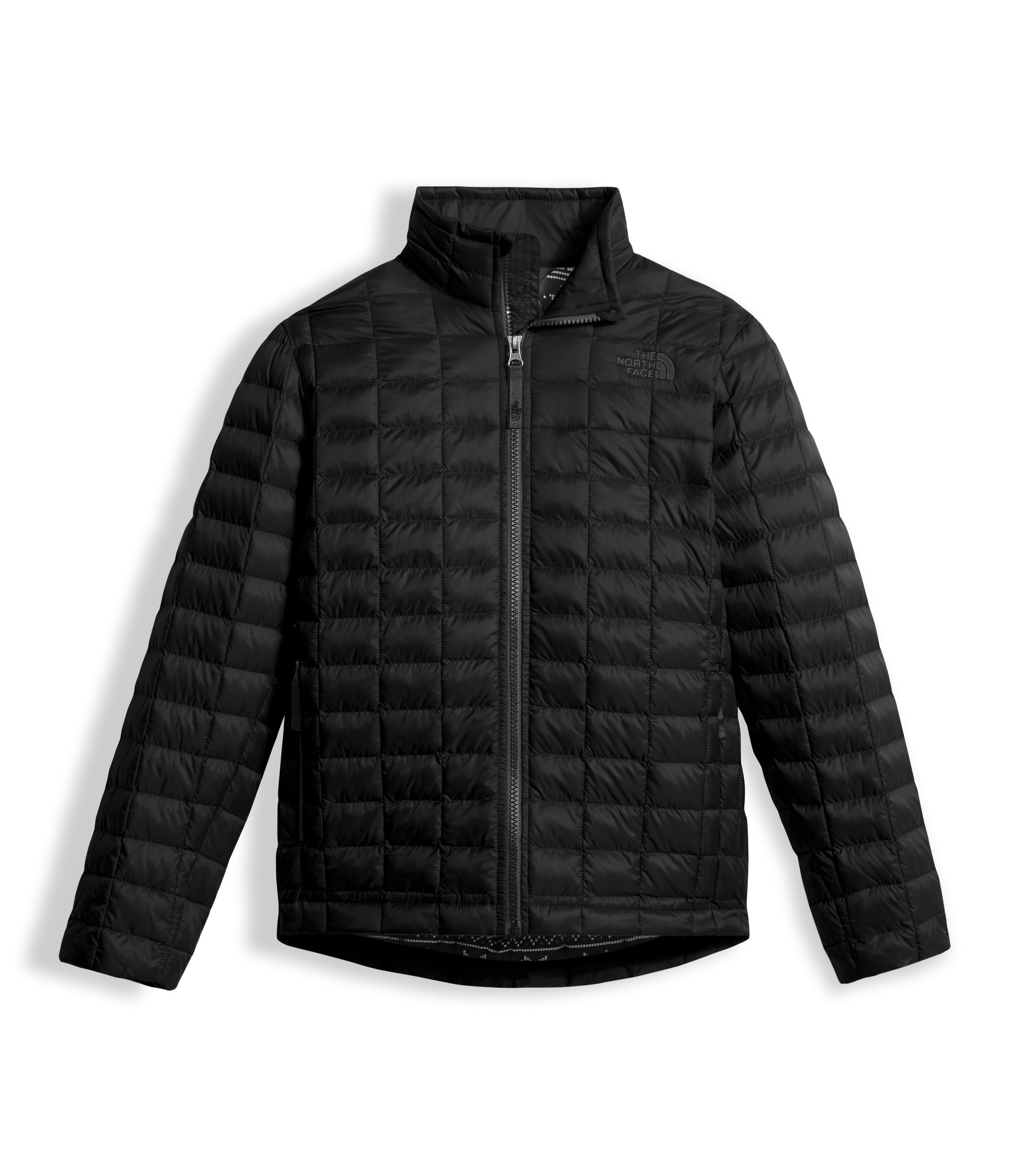 The North Face Boys Thermoball Full Zip Jacket Black (X-Small)