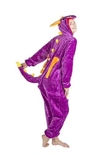 Unisex Onesie Dragon Costume