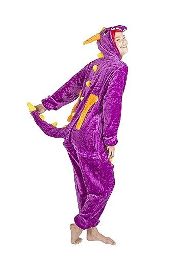 Unisex Onesie Dragon Costume
