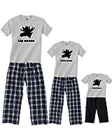 Moose Matching Men and Boys Pajamas for Adults & Kids Playwear