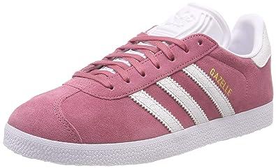 separation shoes 4bea0 8ac74 adidas Gazelle W, Chaussures de Gymnastique Femme, Multicolore (Tramar  Ftwwht B41658),