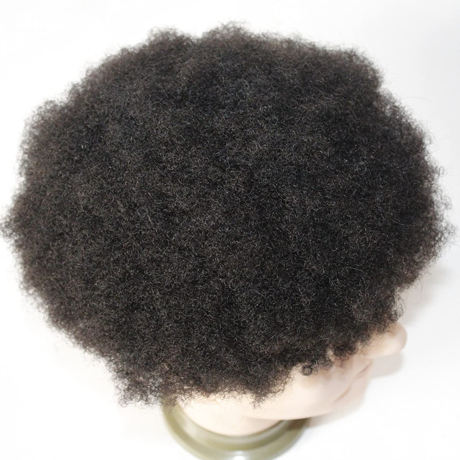 Amazon Afro Toupee For Black Men Human Hair All Transparent