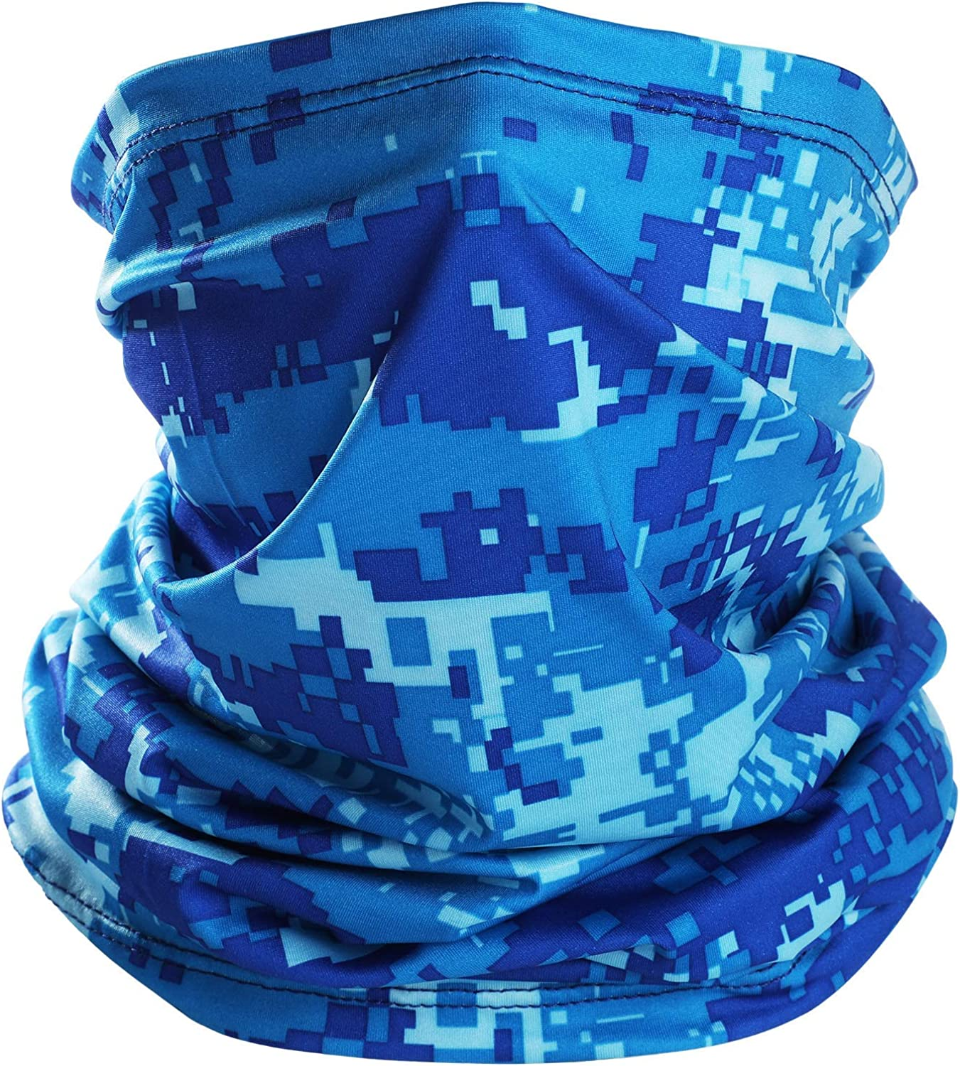 Ligart Cooling Gaiter Lightweight Thin Neck Gaiter Summer Protection from Sun, Surf, Wind and Moisture Face Mask Headwear Headband Bandana for Outdoor Sport