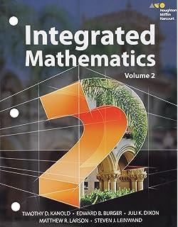 HMH Integrated Math 2: Practice Workbook: HOLT MCDOUGAL
