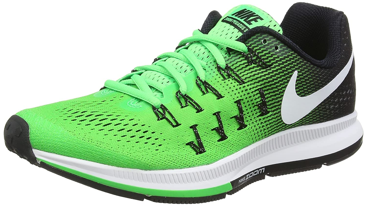 Nike Men's Air Zoom Pegasus 33 B01IP5XLCU 10 D(M) US|Rage Green White Black 301